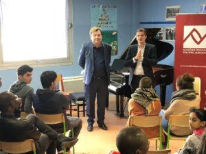 Concert de solidarité et signature de la convention avec France Terre d'Asile